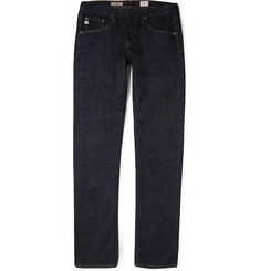 AG Jeans Nomad Slim-Fit Washed-Denim Jeans