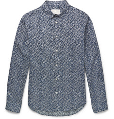 Sandro Printed Cotton Shirt