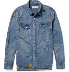 Remi Relief Distressed Denim Shirt