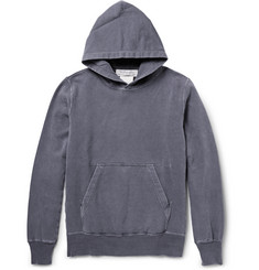 Remi Relief Washed Loopback Cotton-Jersey Hoodie