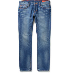 Jean Shop Jim Slim-Fit Selvedge Denim Jeans