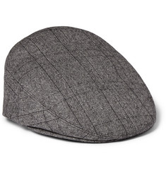 Kingsman Lock & Co Check Wool Flat Cap