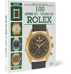 Mondani 100 Years of Rolex Deluxe Edition Hardcover Book