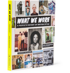 Prestel What We Wore: A People's History of British Style by Nina Manandhar Hardcover Book