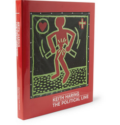 Prestel Keith Haring: The Political Line Hardcover Book