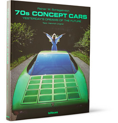 TeNeues '70s Concept Cars: Yesterday's Dreams of the Future Hardcover Book