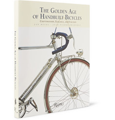 Rizzoli The Golden Age of Handbuilt Bicycles: Craftsmanship, Elegance, and Function Hardcover Book