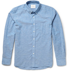 Saturdays Surf NYC Crosby Slim-Fit Button-Down Collar Cotton Oxford Shirt