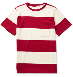 Saturdays Surf NYC Randall Striped Cotton T-Shirt
