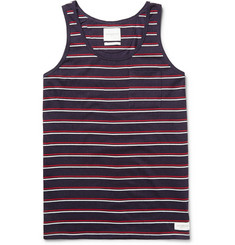 Saturdays Surf NYC Rosen Striped Cotton-Jersey Vest