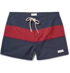 Saturdays Surf NYC Grant Striped Swim Shorts