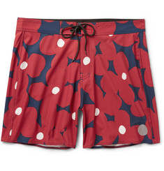 Saturdays Surf NYC Danny Floral-Print Swim Shorts