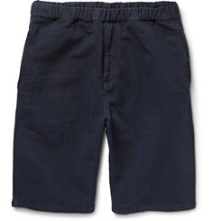 NN.07 Justin Linen and Cotton-Blend Shorts