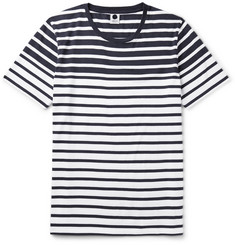 NN.07 Trevor Striped Cotton-Jersey T-Shirt
