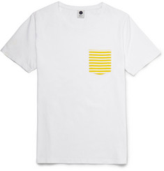 NN.07 Todd Contrast Pocket Cotton-Jersey T-Shirt