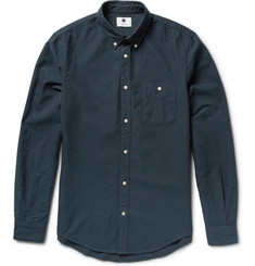 NN.07 New Derek Cotton Oxford Shirt
