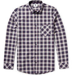 NN.07 Frede Checked Cotton Shirt