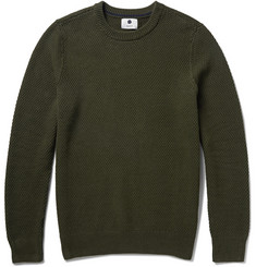 NN.07 Midas Seed-Stitched Cotton Sweater