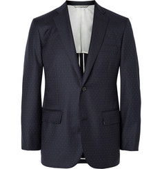 Freemans Sporting Club Pin-Dot Wool Suit Jacket