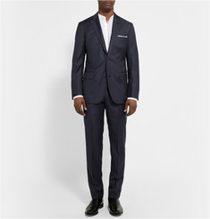 Freemans Sporting Club Pin-Dot Wool Suit Trousers