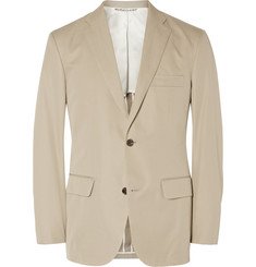 Freemans Sporting Club Beige Slim-Fit Cotton Blazer