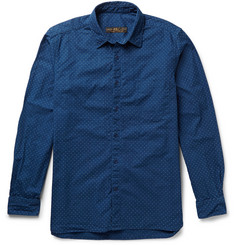 Freemans Sporting Club Pin-Dot Cotton-Poplin Shirt