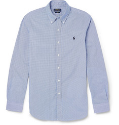 Polo Ralph Lauren Slim-Fit Gingham-Check Cotton Shirt