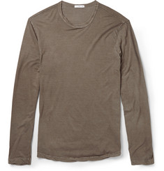 James Perse Long-Sleeved Cotton T-Shirt