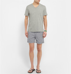 James Perse V-Neck Brushed Cotton-Jersey T-Shirt