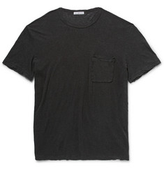 James Perse Linen and Cotton-Blend Jersey T-Shirt