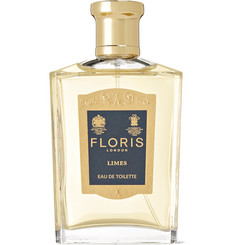 Floris London Limes Eau de Toilette - Lemon, Petitgrain, 100ml