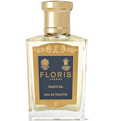 Floris London Santal Eau De Toilette - Clove bud, Cedarwood 50ml