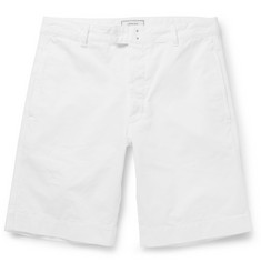 Officine Generale Cotton Chino Shorts