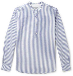 Officine Generale Auguste Striped Linen And Cotton-Blend Shirt