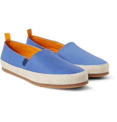 Mulo - Cotton-Twill Espadrilles