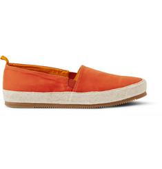 Mulo Cotton-Twill Espadrilles