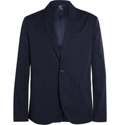 McQ Alexander McQueen Unstructured Cotton-Twill Blazer
