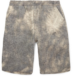 Our Legacy Tie-Dyed Linen Shorts