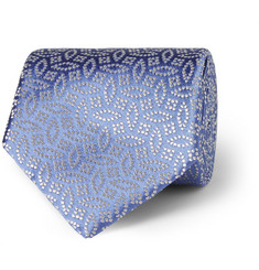 Charvet Patterned Woven Silk Tie
