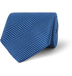 Charvet Striped Silk-Satin Tie