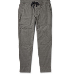 James Perse Mélange Slub-Woven Sweatpants