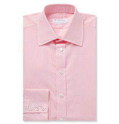 Kingsman + Turnbull & Asser Pink Gingham Cotton Shirt