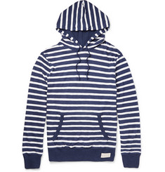 Polo Ralph Lauren Striped Mélange Pima Cotton-Jersey Hoodie
