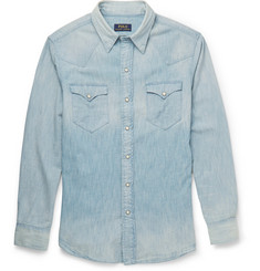 Polo Ralph Lauren Washed-Denim Shirt