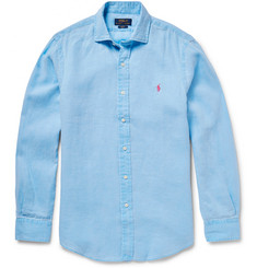 Polo Ralph Lauren Slim-Fit Slub Linen Shirt