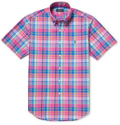 Polo Ralph Lauren Slim-Fit Check Cotton-Poplin Shirt