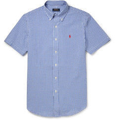 Polo Ralph Lauren Gingham Cotton-Seersucker Shirt
