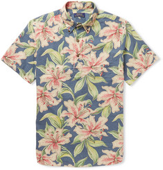 Polo Ralph Lauren Printed Linen and Cotton-Blend Shirt
