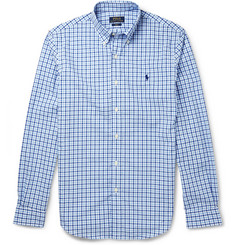 Polo Ralph Lauren Button-Down Collar Check Cotton Shirt