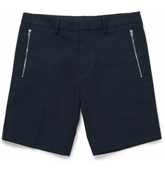 COS Slim-Fit Stretch-Cotton Twill Shorts